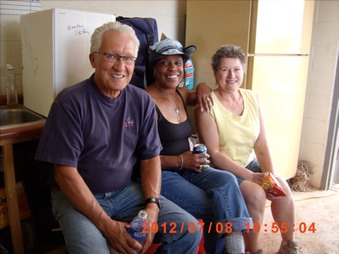 Nick, Trudy, Christine