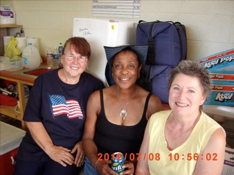 Sharon, Trudy, Christine